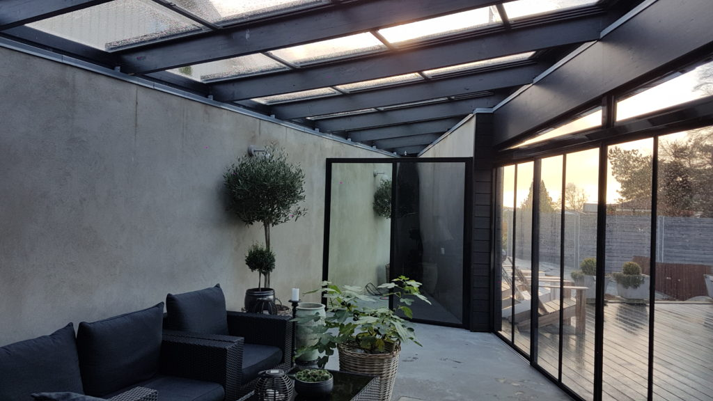 Retractable Glass Roofs