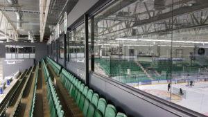 arena-glasing