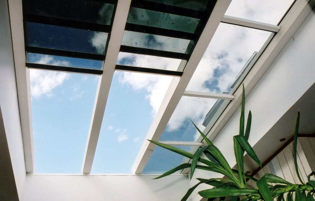 Thermal Glazing Systems : Retractable glass roofs and glazing systems