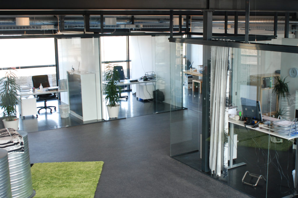 Glazed Office Cubicles : Office partition glazing systems for offices bentech
