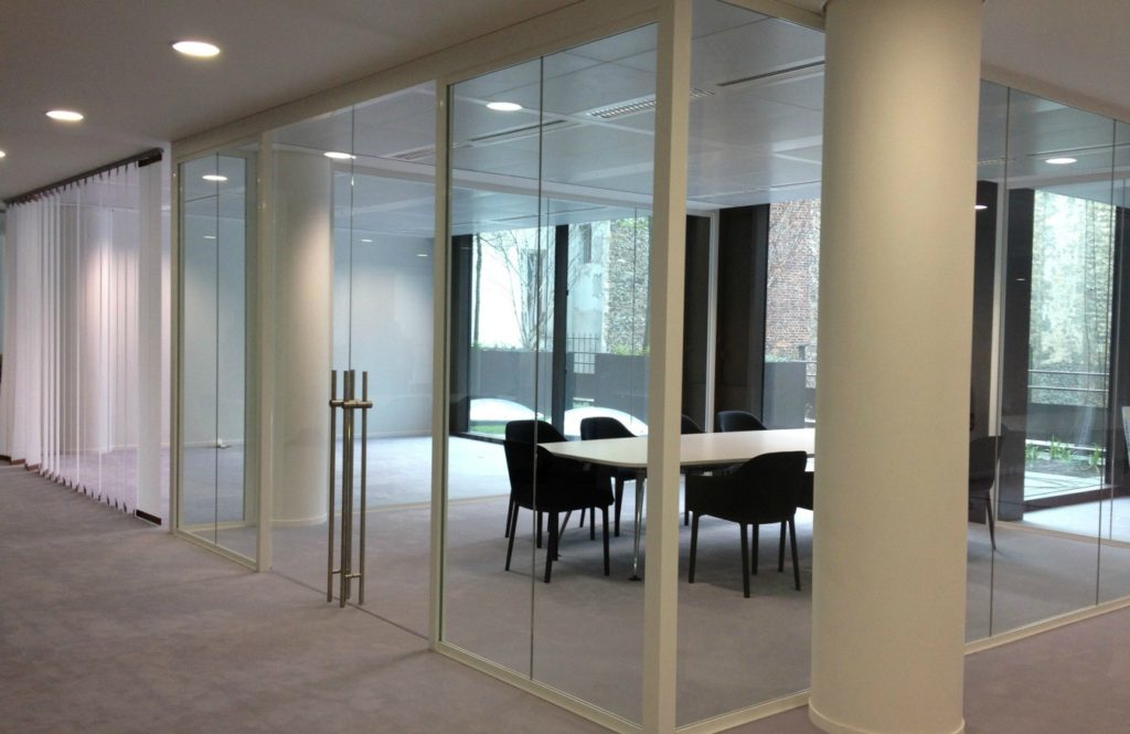 Office partition, glazing systems for offices | Bentech