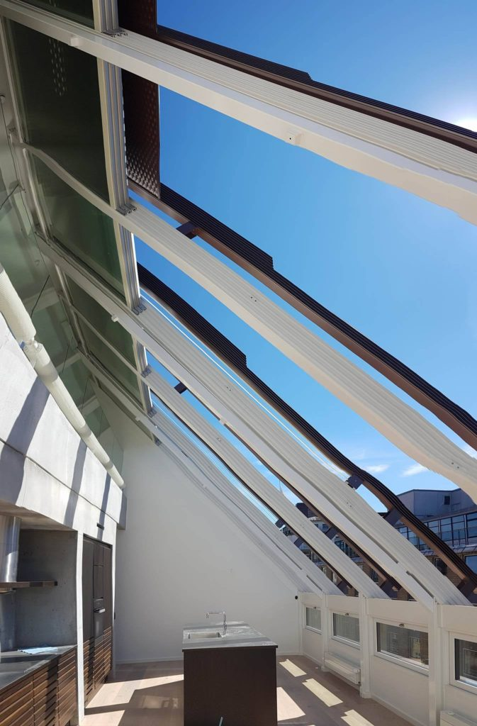 Retractable Glass Roofs Glass Roofs And Glazing Systems